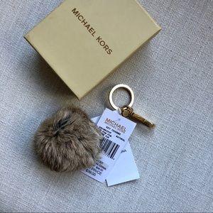 Women s Michael Kors Fur Keychain on Poshmark 37de6485e